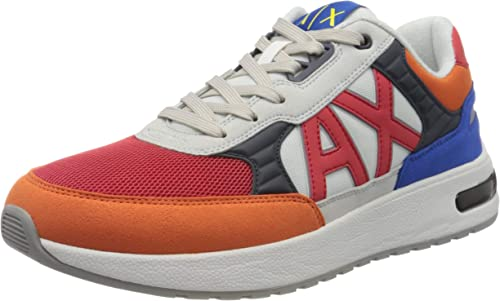 Armani exchange sneaker  scarpe da ginnastica basse uomo XUX052XV205