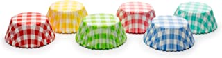 Fox Run 8015 Gingham Bake Cup Set, 3 x 3 x 1.25 inches, Multicolored
