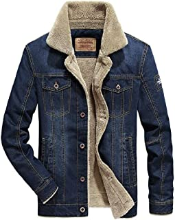 SHOWNO Men Casual Striped Side Hooded Thicken Quilted Jacket Coat Outerwear