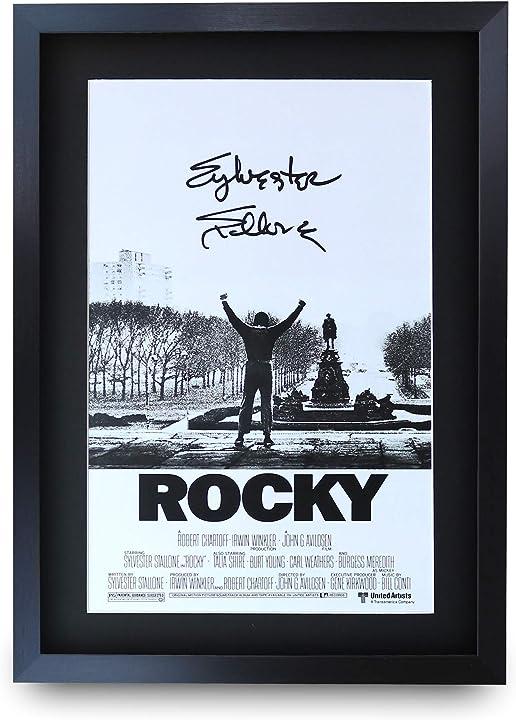 Quadro poster rocky  hwc trading B07R7245WL