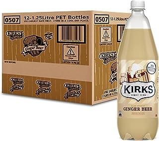 Kirks Ginger Beer 12 x 1.25L