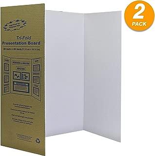 White Tri-Fold Presentation Board 28