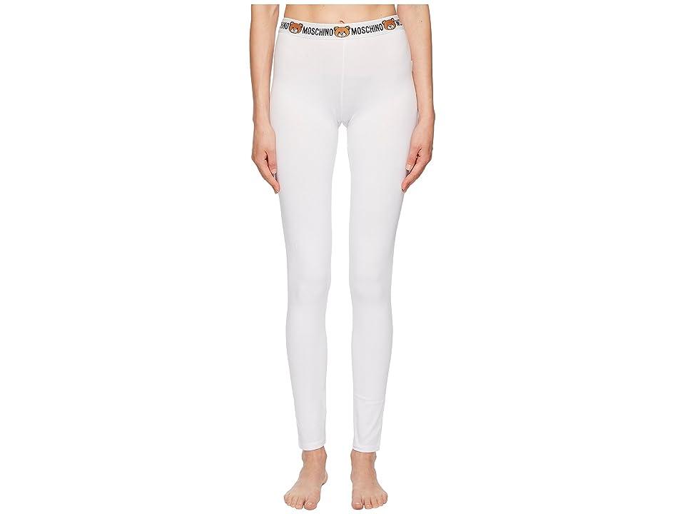 Moschino Underbear Leggings (White) Women