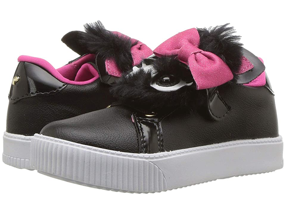 Pampili 435034 (Toddler/Little Kid/Big Kid) (Black/Pink) Girl