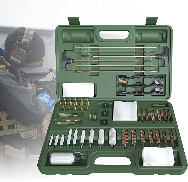 ZPCSAWA Portátil Large Gun Cleaning Kit Weapon Care Accessories y Gun Cleaning Weapon Care Cleaning Kit
