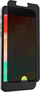 ZAGG InvisibleShield Glass+ Privacy Screen Protector for Apple iPhone 8 Plus, iPhone 7 Plus, iPhone 6s Plus, iPhone 6 Plus – 3X Impact Protection