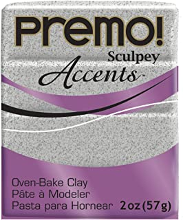 Premo Sculpey Polymer Clay 2 Ounces-Gray Granite