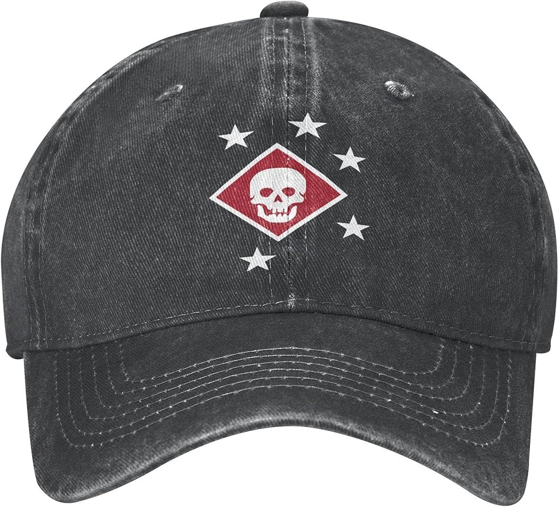 Marine Raiders Flag Unisex Adult Denim Hats Cowboy Hat Dad Hat Driver Cap