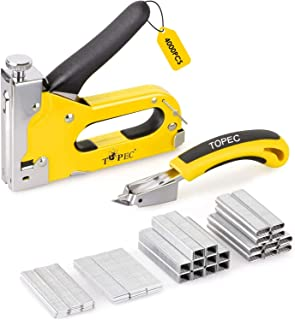 Sponsored Ad – LANNIU Staple Gun with Remover,Heavy Duty 4-in-1 Manual Nail Gun with 4000 Staples, Gun Set for DIY, Uphols...