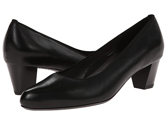 ara  Kelly (Black Leather) Womens  Shoes