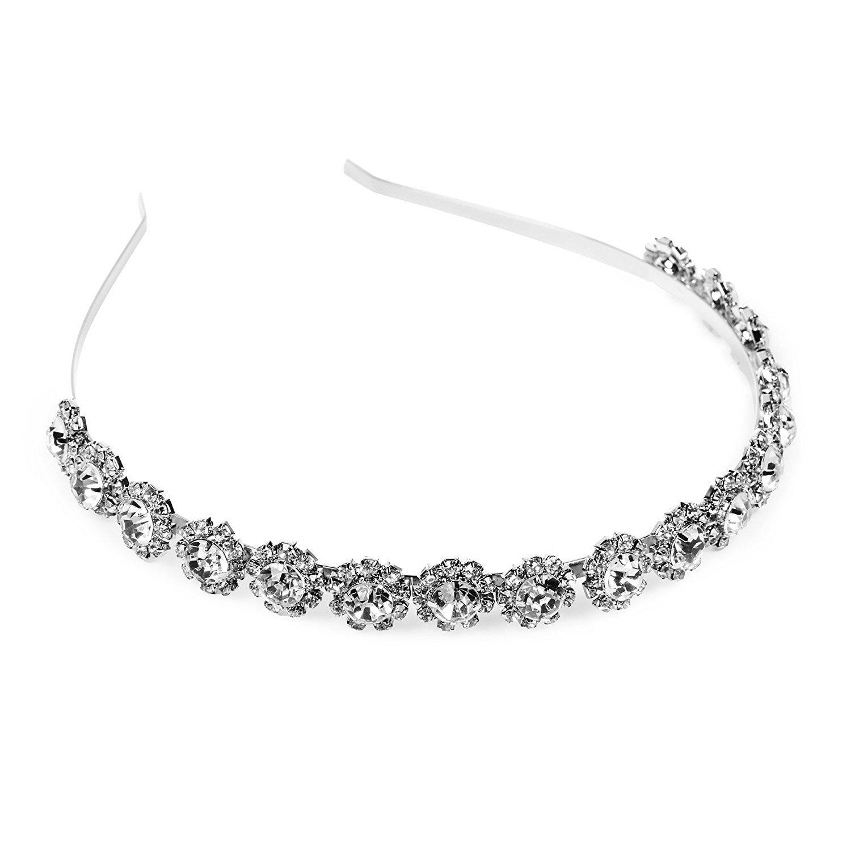 Austin Mall KLOUD City Fashion Bridal Rhinestone Pr Pageant All stores are sold Headband Crystal