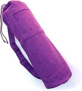 BAREFOOT YOGA CO. Barefoot Yoga Cotton Jacquard Yoga Mat Bag