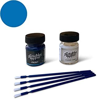 ScratchesHappen Exact-Match Touch Up Paint Kit Compatible with Scion/Toyota Voodoo Blue (8T6) - Essential