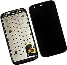 Skiliwah LCD Display Touch Screen Digitizer Assembly for Motorola Moto G XT1032 XT1036 XT1031 + Frame Black