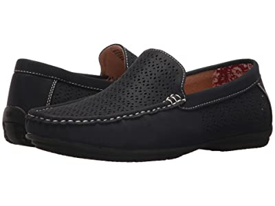 Stacy Adams Cicero Casual Slip On Loafer (Navy) Men
