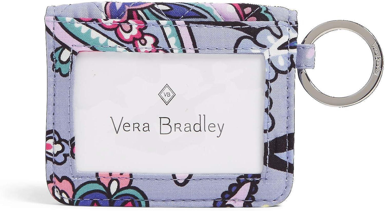 Vera Bradley Women's Wallet Signature Cotton Double Finally popular brand Ca Campus Sale item ID