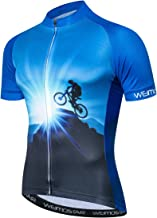 JPOJPO Herren Fahrradtrikot Langarm Pro Brand Team Reflektierende Fahrradshirts Jacke Vogel Totenkopf