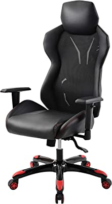 ModernLuxe Gaming Chair Office Chair Swivel Executive Chair Tilt Function and Thick Seat,Computer Chair