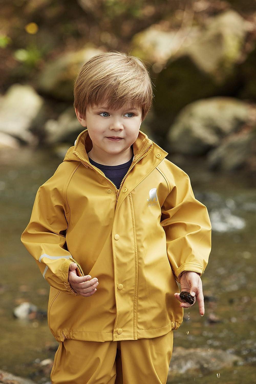 CeLaVi Girls Zweiteiliger Regenanzug in Vielen Farben Waterproof Jacket
