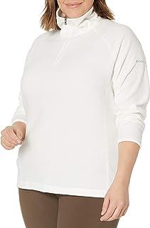 Columbia Women's Glacial Fleece Iii Plus Size 1/2 Zip Fleece Jacket