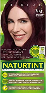 Naturtint 4M Permanent Mahogany Chestnut Haircolor Kit, 4.5 Ounce - 3 per case.