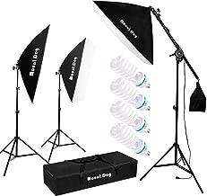MOUNTDOG 1350W Photography Studio Softbox Lighting Kit Continuous Lighting System Photo..