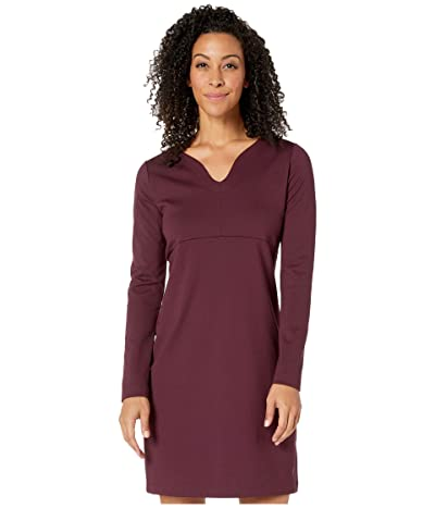 Royal Robbins Geneva Ponte Dress (Malbec) Women