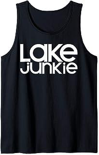 Lake Junkie Havasu Life Wakeboard Boat Bum Houseboat Camping Tank Top