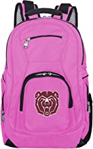 Denco NCAA Voyager Laptop Backpack, 19-inches, Pink