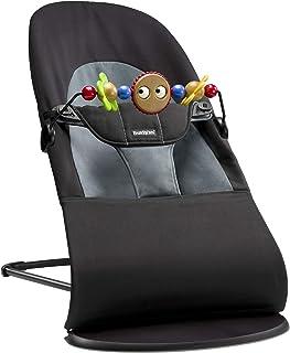 comprar comparacion BabyBjörn Balance soft - Hamaca, Negro/Gris oscuro