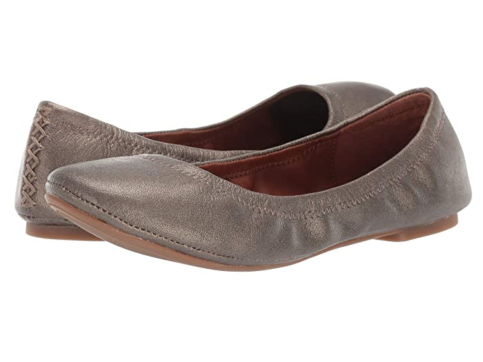 Lucky Brand  Emmie (Pewter) Womens Flat Shoes
