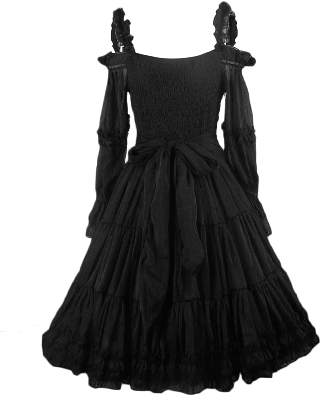 Maggie Tang Women's 1950s Vintage Rockabilly Victorian Bridamaid Prom Dress