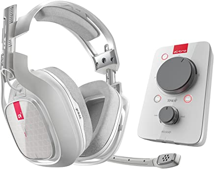 Logitech Astro Gaming A40TR Headset, color Blanco (+ MixAmp Pro Xbox One) - Platinum Edition