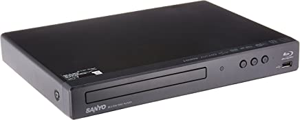 Sanyo Blu-ray / DVD Player with Built-in WiFi and USB...