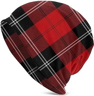 Winter Beanie Knit Hats for Men & Women - Warm, Stretchy, Comfort & Soft Daily Toboggan Cap - Ramsay Tartan Or Ramsay of Dalhousie