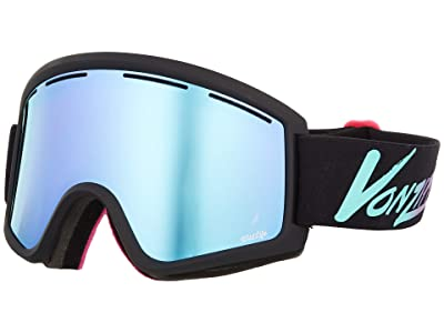 VonZipper Cleaver Goggle (Neo Miami Black Satin/Wild Stellar Chrome Lens) Snow Goggles