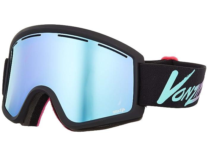 Cleaver Goggle Neo Miami Black Satin/Wild Stellar Chrome Lens