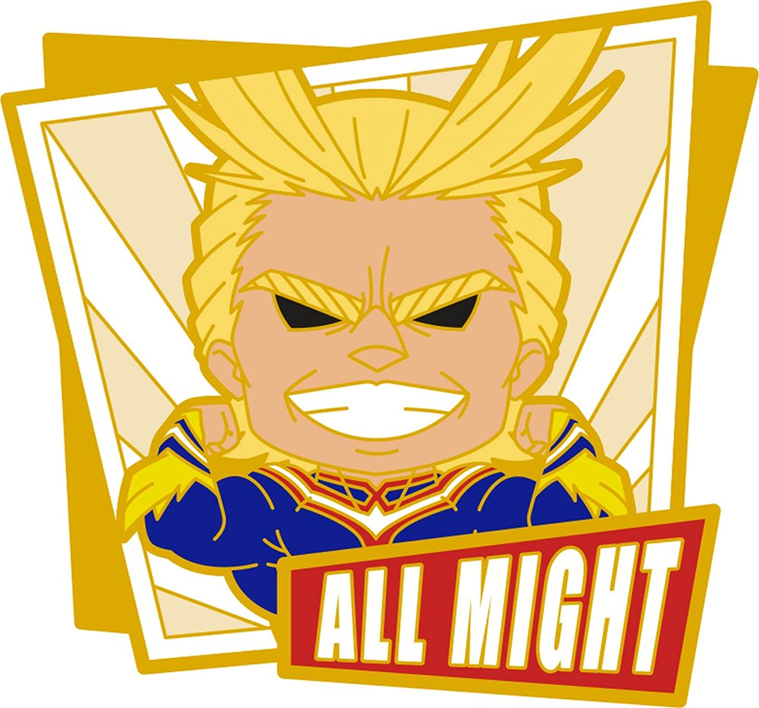 Nendgoldid Petit nendgoldid plus  my hero academia rubber magnet all might muscle form...
