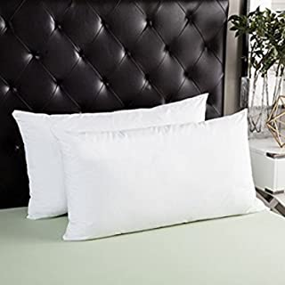 JDX Hotel Quality Fibre Pillow Set of 2-44x61
