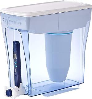 ZeroWater Distributeur de 20 tasses de qualité d'eau, sans BPA, certifié NSF pour réduire le plomb et autres métaux lourd...