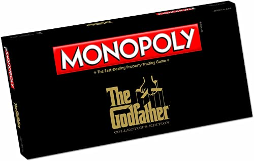 The Godfather Monopoly Board Game  The Godfather Monopoly
