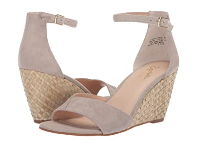 Seychelles Dual Purpose (Taupe Suede/Basketweave) Women