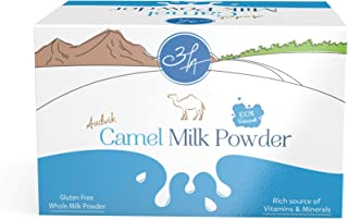 Aadvik Camel Milk Powder 0.7 Oz x 10 servings, 7 Oz makes 70 fl oz (Freeze Dried, Gluten free, no additives, no preservatives)