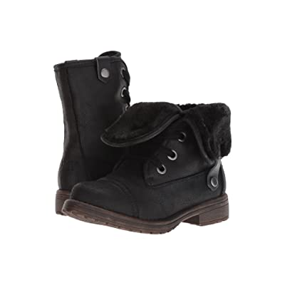 Roxy Kids Bruna (Little Kid/Big Kid) (Black) Girls Shoes