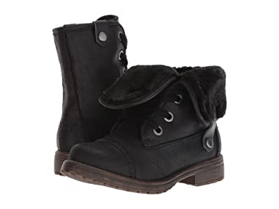 Roxy Kids Bruna (Little Kid/Big Kid) (Black) Girls Shoes
