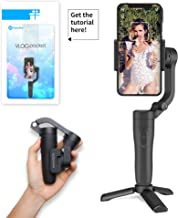 Feiyu FeiyuTech Vlog Pocket Wireless Smartphone Gimbal Stabilizer Remote Control Foldable Compatible with iOS and Android Smart Phones for iPhone Galaxy Huawei and More