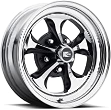 Cragar CRR-325799: Wheel, Keystone Klassic, Steel, Chrome, 15 in. x 7 in., 5 x 4.5/5 in. Bolt Circle, 3.75 in. Backspace, Each