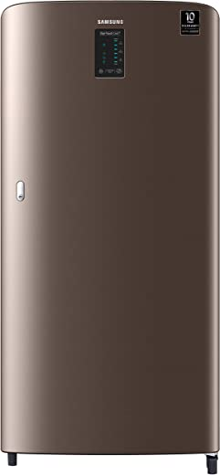 Samsung 198 L 4 Star Inverter Direct Cool Single Door Refrigerator (RR21A2C2XDX/HL, Luxe Brown, Digi-Touch Cool) 1