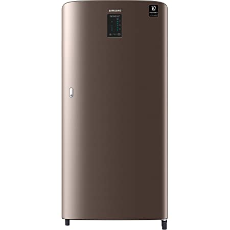 Samsung 198 L 4 Star Inverter Direct Cool Single Door Refrigerator (RR21A2C2XDX/HL, Luxe Brown, Digi-Touch Cool)