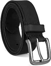 mens belts black leather